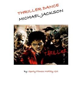 Thriller Dance Lesson Plan