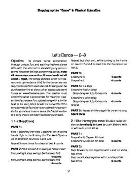 Thriller, Temperature, 1-2 Step, The way u move, Señorita, & Disco PE Dances