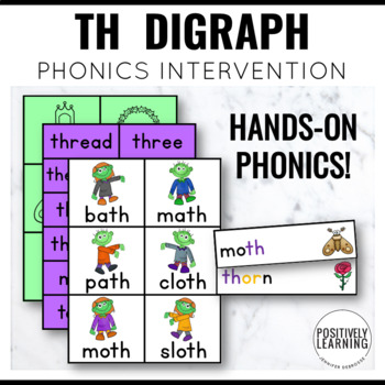 Phonics Intervention Games TH Digraph Thriller