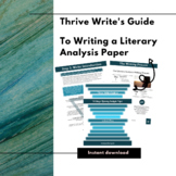 Thrive Write's Guide to Writing a Literary Analysis Paper