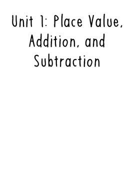 Thrive grade 4 math vocab