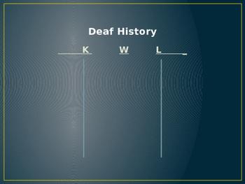 Through Deaf Eyes PowerPoint