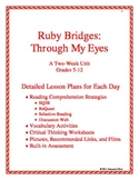 Through My Eyes by Ruby Briges:  Comprehension and History