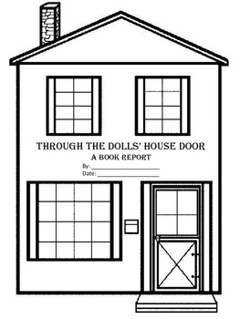 Through The Dolls' House Door Book Report Graphic Organizer 3rd-5th Grade