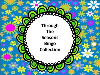Through The Seasons Bingo Collection