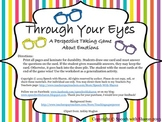 Through Your Eyes- A Perspective Taking Game about Emotions