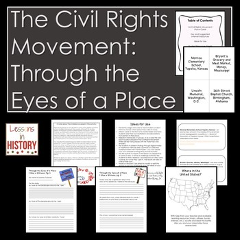 The Civil Rights Movement: Through the Eyes of a Place (History and Geography)