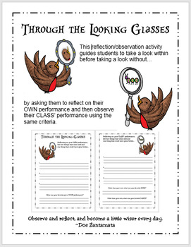 Through the Looking Glasses: A Music Assessment Reflection/Observation Activity