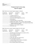 Through the Tunnel by Doris Lessing Figurative Language Worksheet & KEY