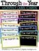 Through the Year Monthly Label Cards