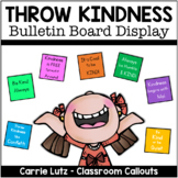 Throw Kindness Like Confetti Bulletin Board
