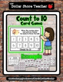 Throw (focus word) - Count to 10 Card Game  *o