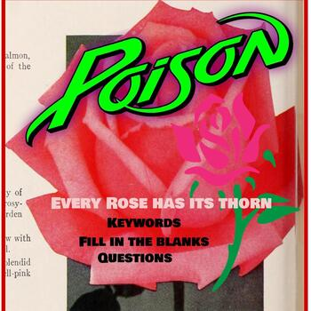 Throwback Thursday (Poison-Every Rose Has Its Thorn)