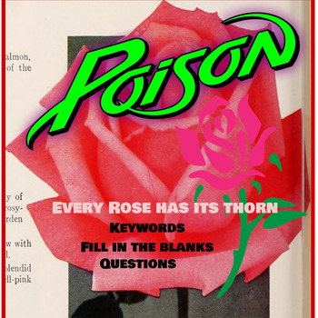 Throwback Thursday -Similes (Poison-Every Rose Has Its Thorn)