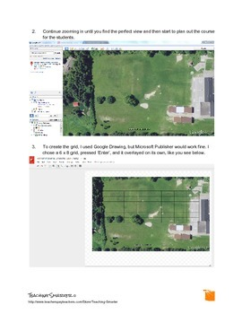Throwing Your Way Through Geometry: Frisbee, Google Earth, and Geometry