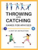 Throwing and Catching Unit Plan and Resources Pack for PE Class