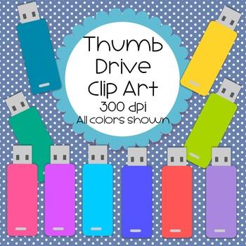 Thumb Drive Cip Art - 10 total
