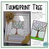 Thumbprint Tree as Teacher Gift