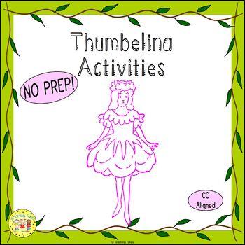 Thumbelina Fairy Tales Worksheets Activities Games Printab