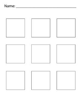 Thumbnail Sketches 2 inch squares