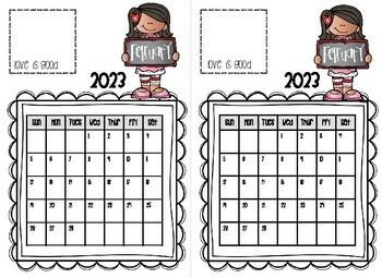 Thumbody Loves You Calendar