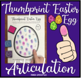 Thumbprint Easter Egg: A SpeechTherapy Craft Activity