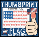 Thumbprint Flag: An Articulation Art Activity