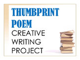 Thumbprint Poem - Creative Writing Project