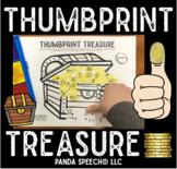 Thumbprint Treasure: An Articulation Art Activity