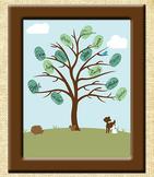 Thumbprint Tree for Classroom Unity
