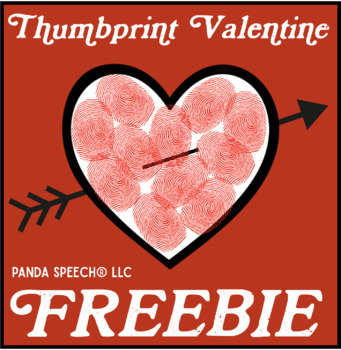 Thumbprint Valentine FREEBIE