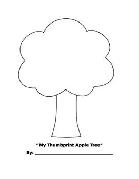 Thumbprint /apple Tree