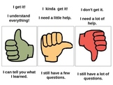 Thumbs Check for Understanding