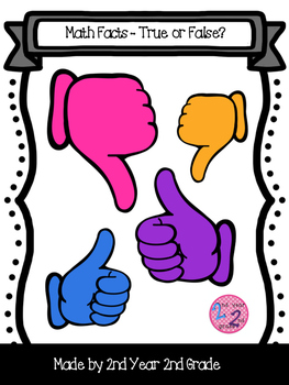 Thumbs Up Math Facts