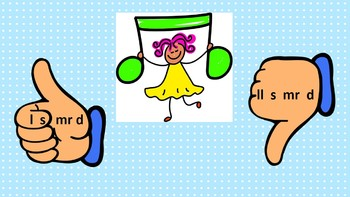 Thumbs Up Thumbs Down Solfege Pattern Game: Level 3