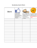 Thumbs Up, Thumbs Down Vocabulary Quick Check