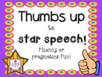 Thumbs Up To Star Speech