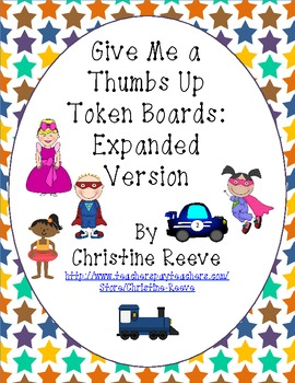 Thumbs Up: Token Systems for Behavior Management (autism / special education)