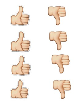 Thumbs up, Thumbs down Social Skills Game