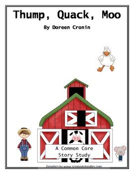 Thump, Quack, Moo - Common Core book study
