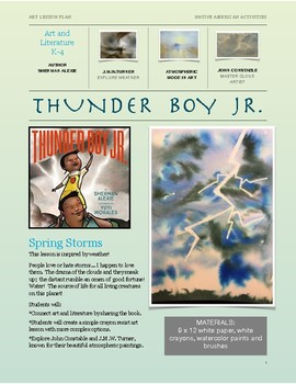 Thunder Boy Jr.- Native American Art and Literature
