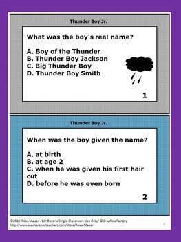 Thunder Boy Jr. Literacy Unit