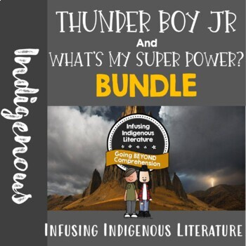 Thunder Boy Jr and What's My Superpower Reading Response Unit