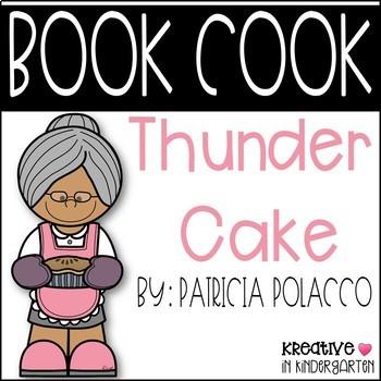 Thunder Cake Book Cook