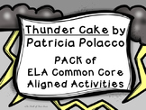 Thunder Cake-Character Trait/Feeling-Text Evidence-Theme PACK