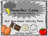 Thunder Cake ELA Activity Pack