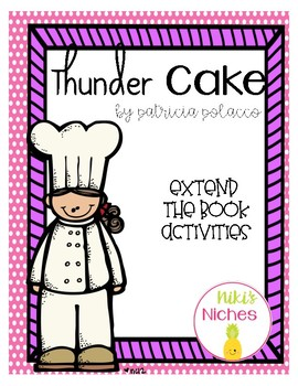 Thunder Cake Extend the book
