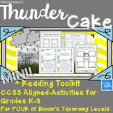 Thunder Cake MINI Reading Comprehension Toolkit