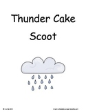 Thunder Cake ~ Scoot Game ~ Language Arts ~ Task Cards