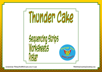 Thunder Cake Sequence and Summarize